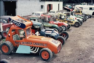 #858 Super Modifieds 1971 (early Sprintcars)